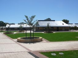 Library and Peron Learning Block
